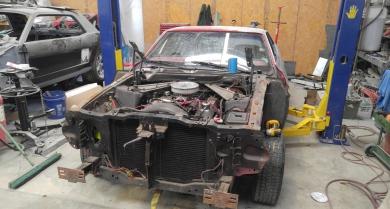 Restoration of 1973 Mustang